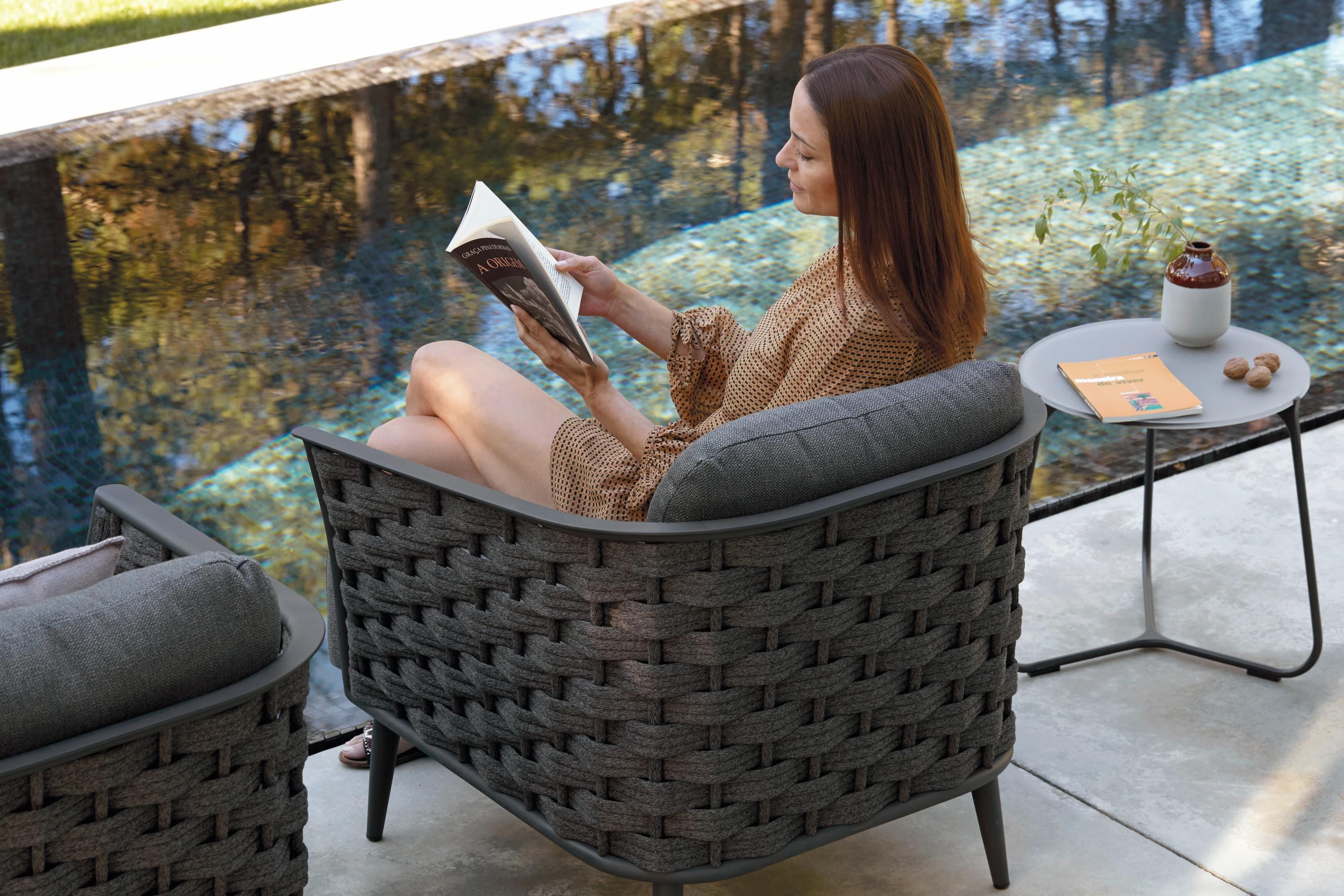 Cascade Chair lounge from Manutti, designed by Stephane De Winter
