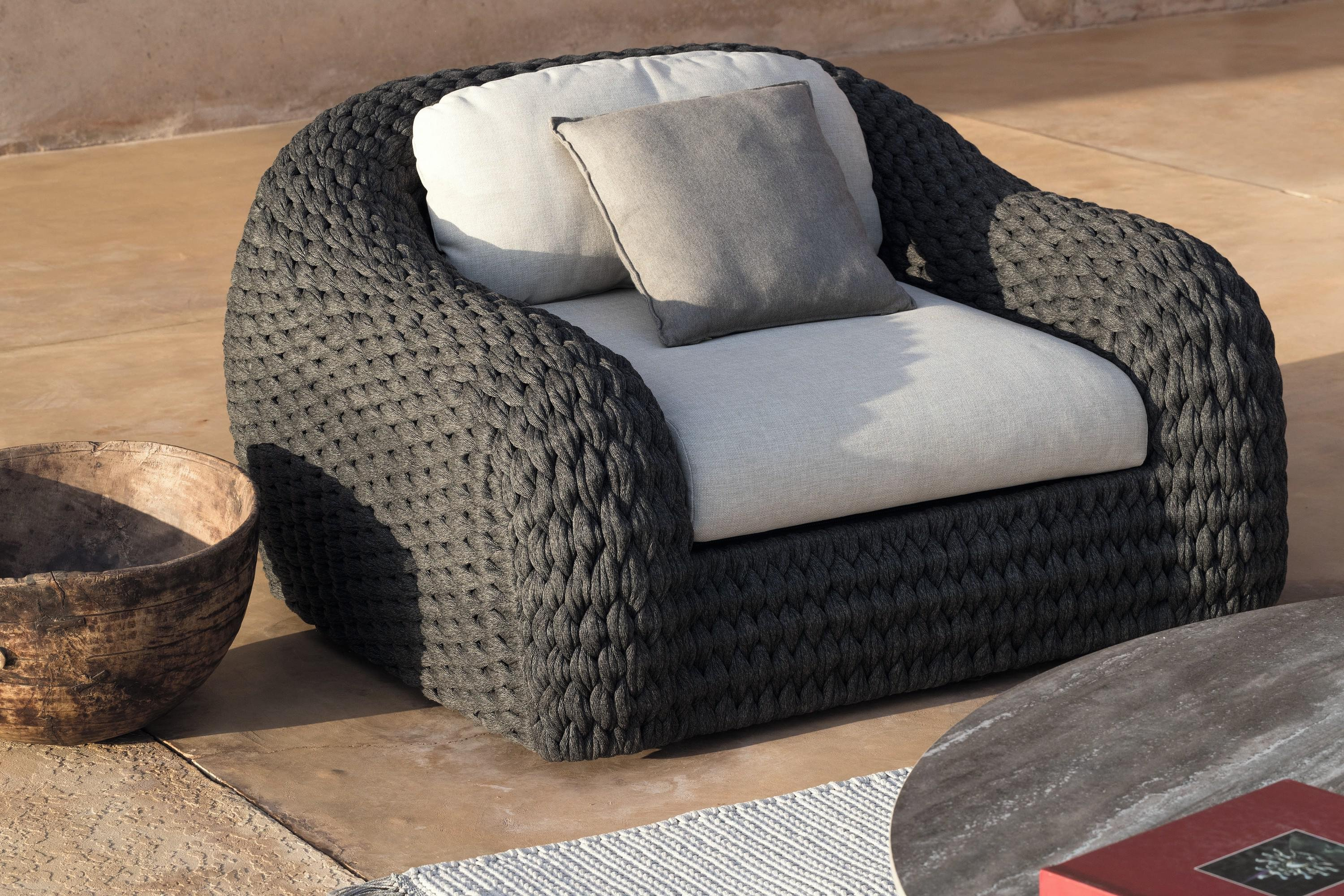 Kobo Lounge Chair from Manutti, designed by Stephane De Winter