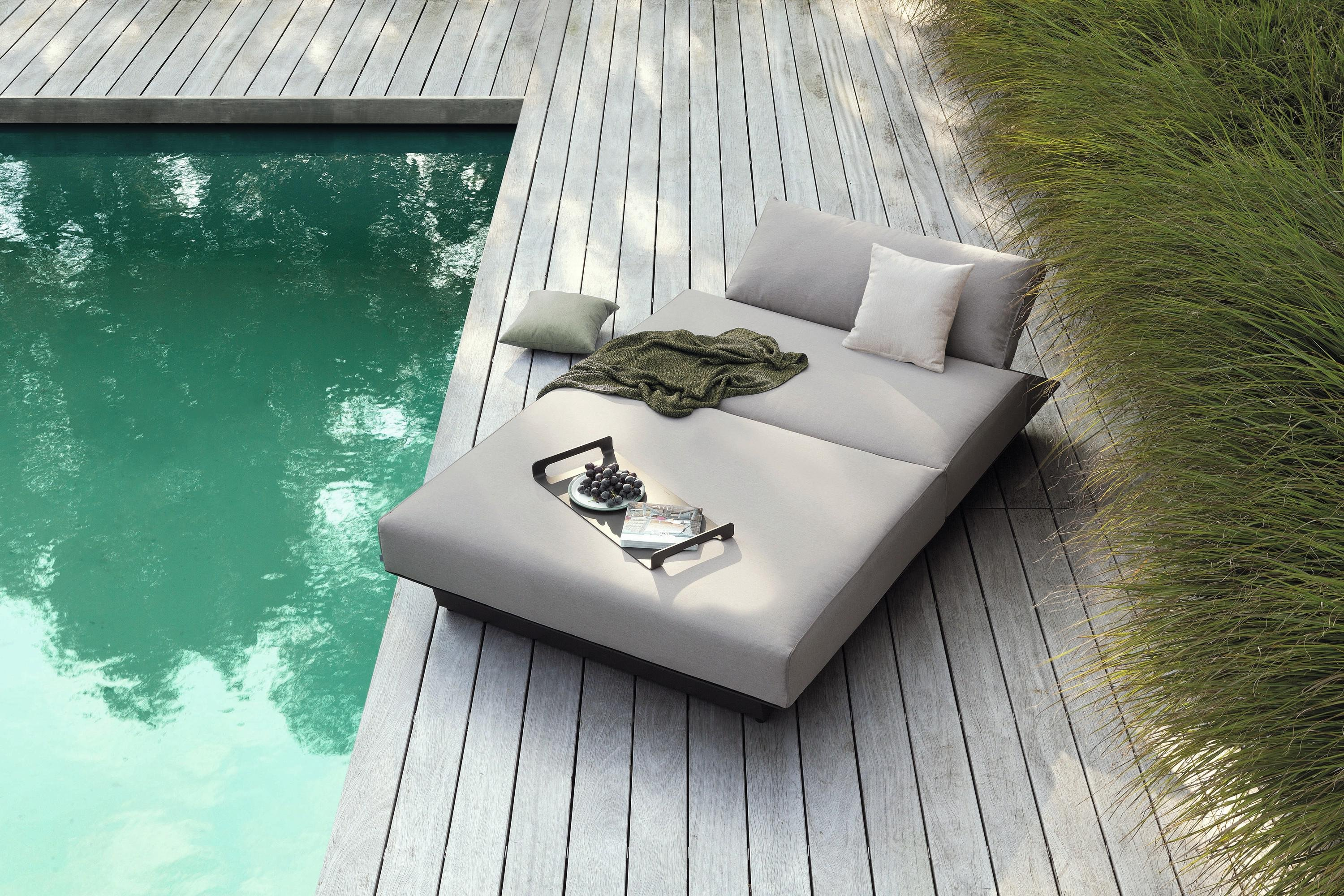 Air Daybed  from Manutti, designed by Gerd Couckhuyt