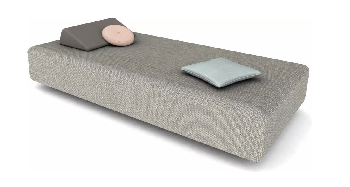 Kumo Lounger from Manutti, designed by Lionel Doyen