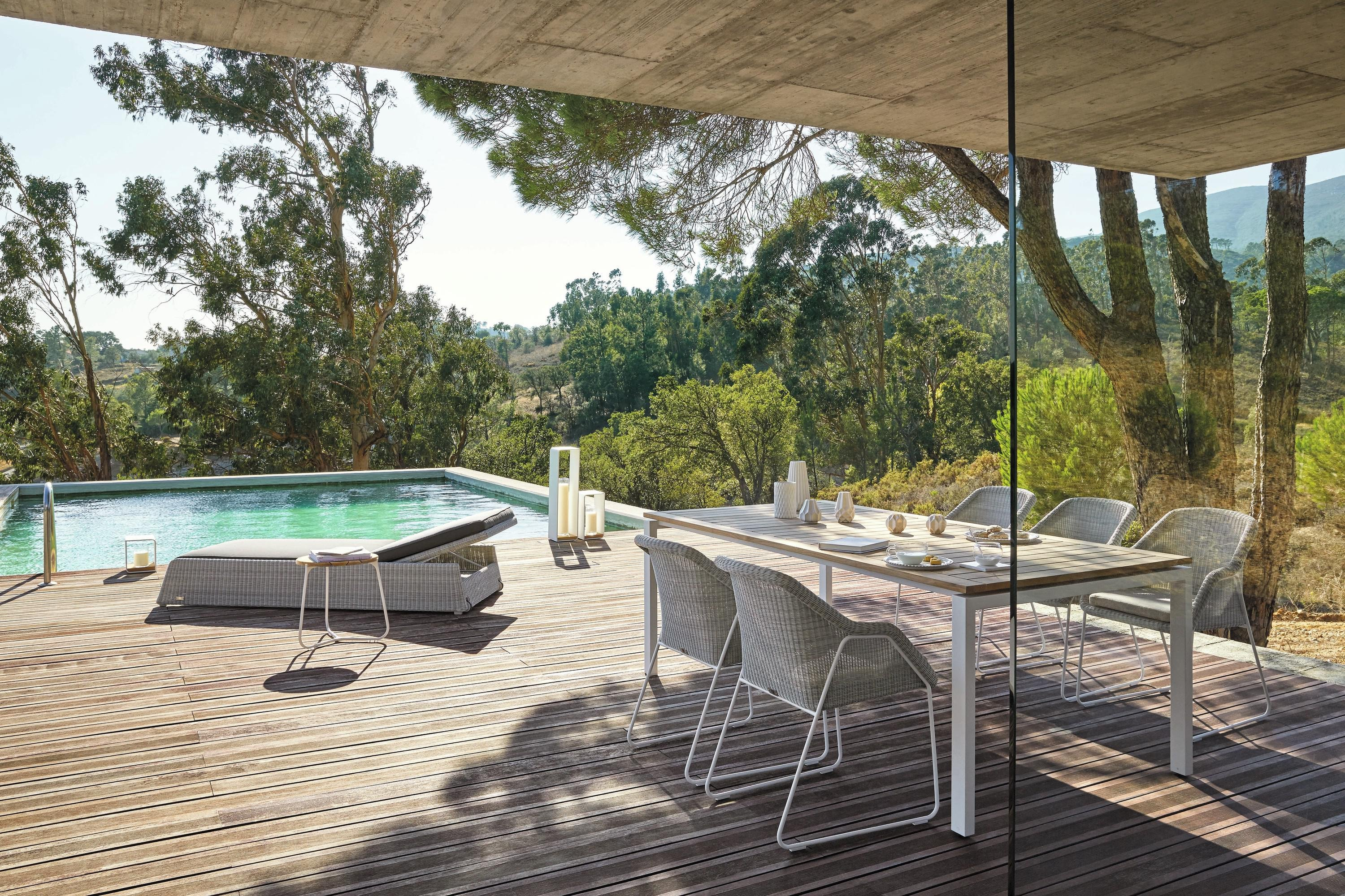 Trento Dining Table from Manutti, designed by Stephane De Winter
