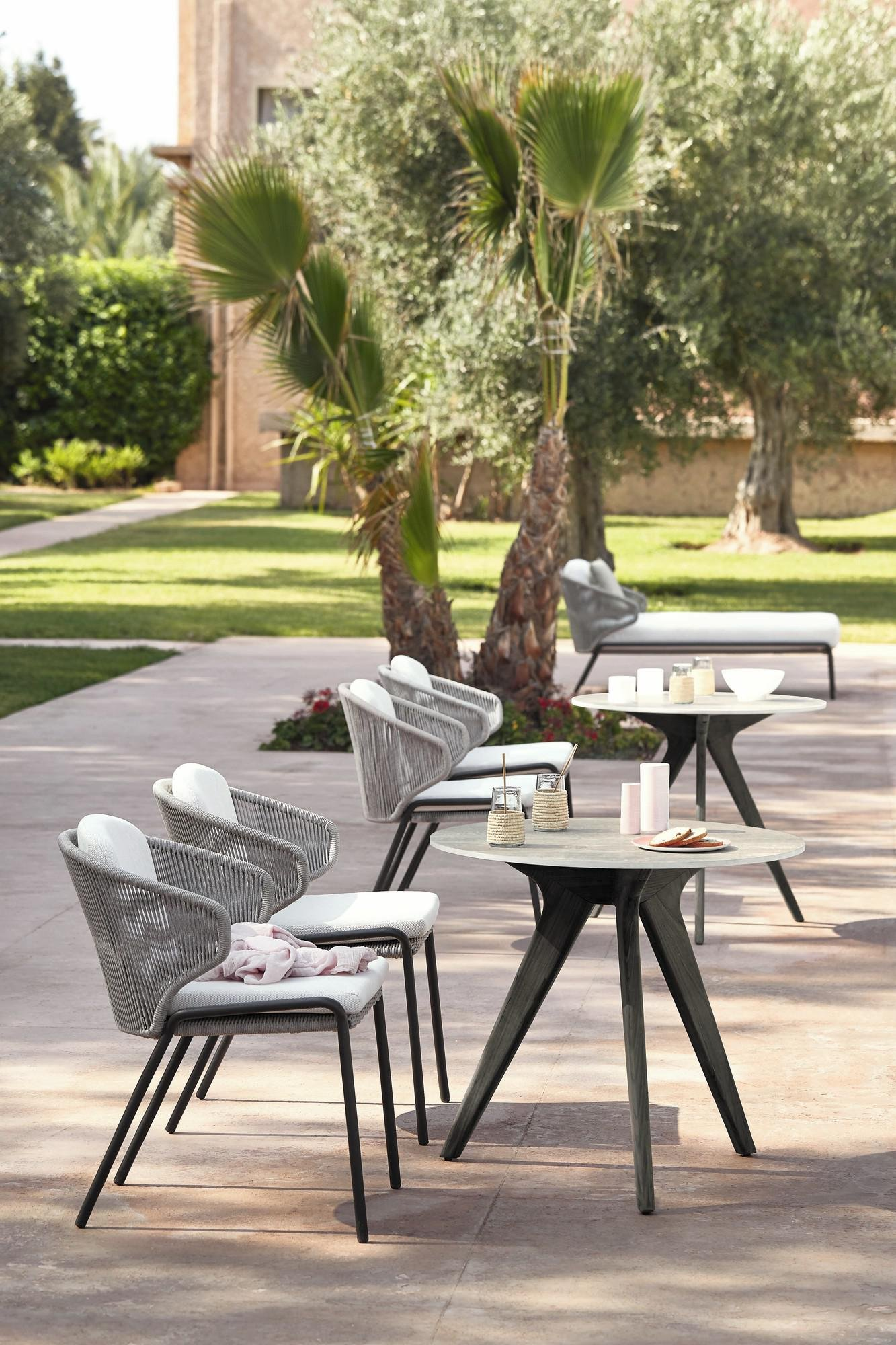 Radius Dining Chair from Manutti, designed by Stephane De Winter