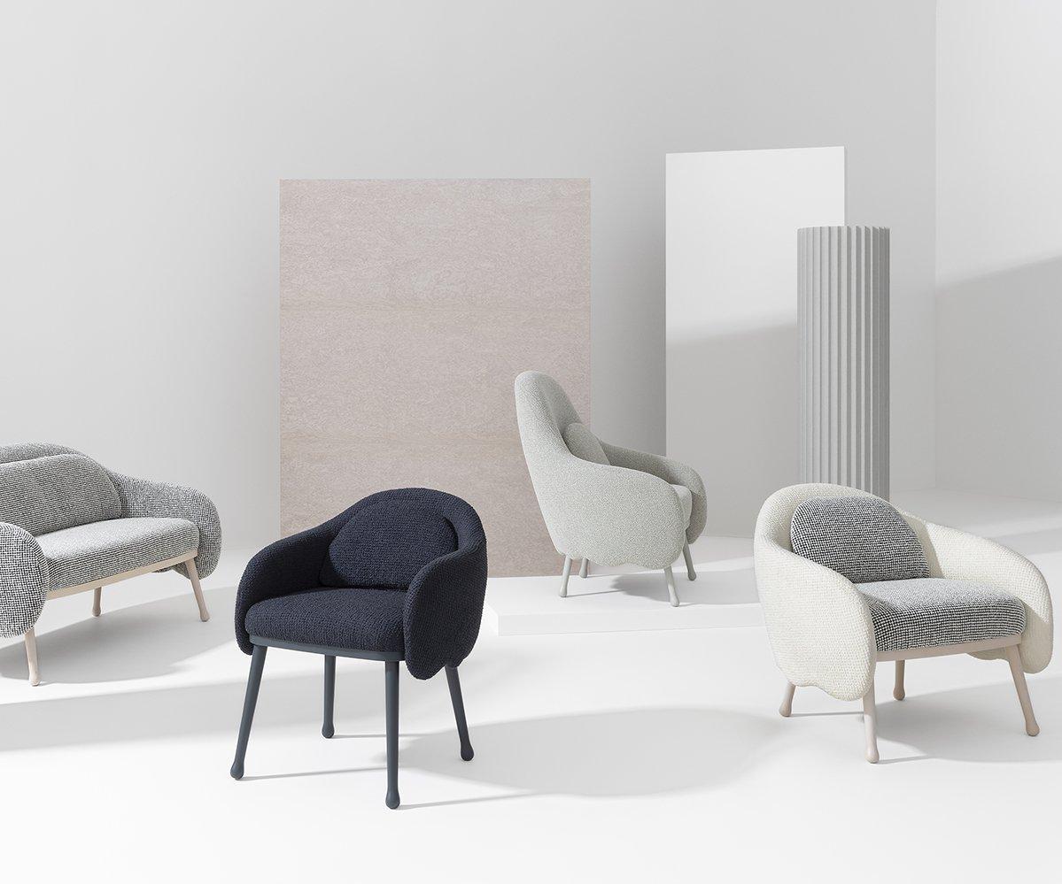 Corolla Lounge Chair from Billiani