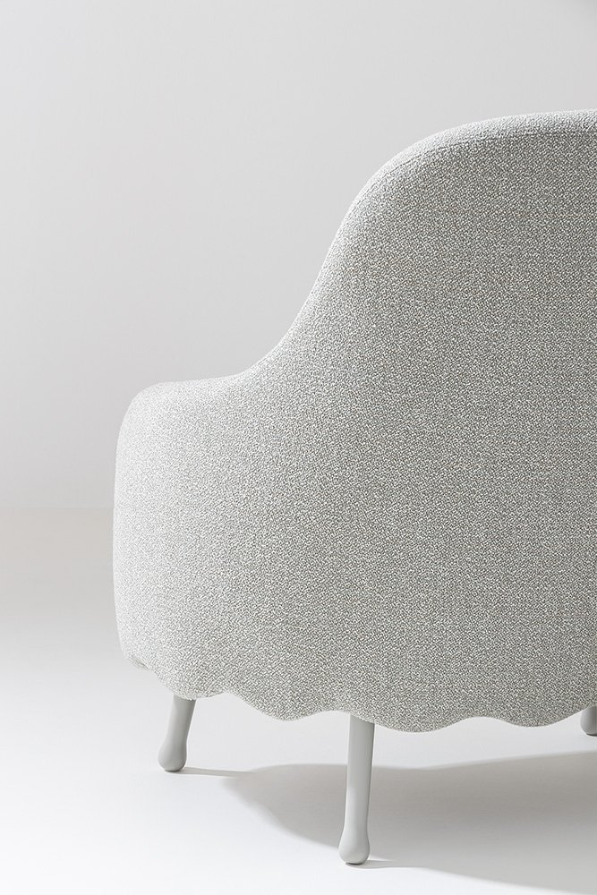 Corolla Lounge Chair from Billiani