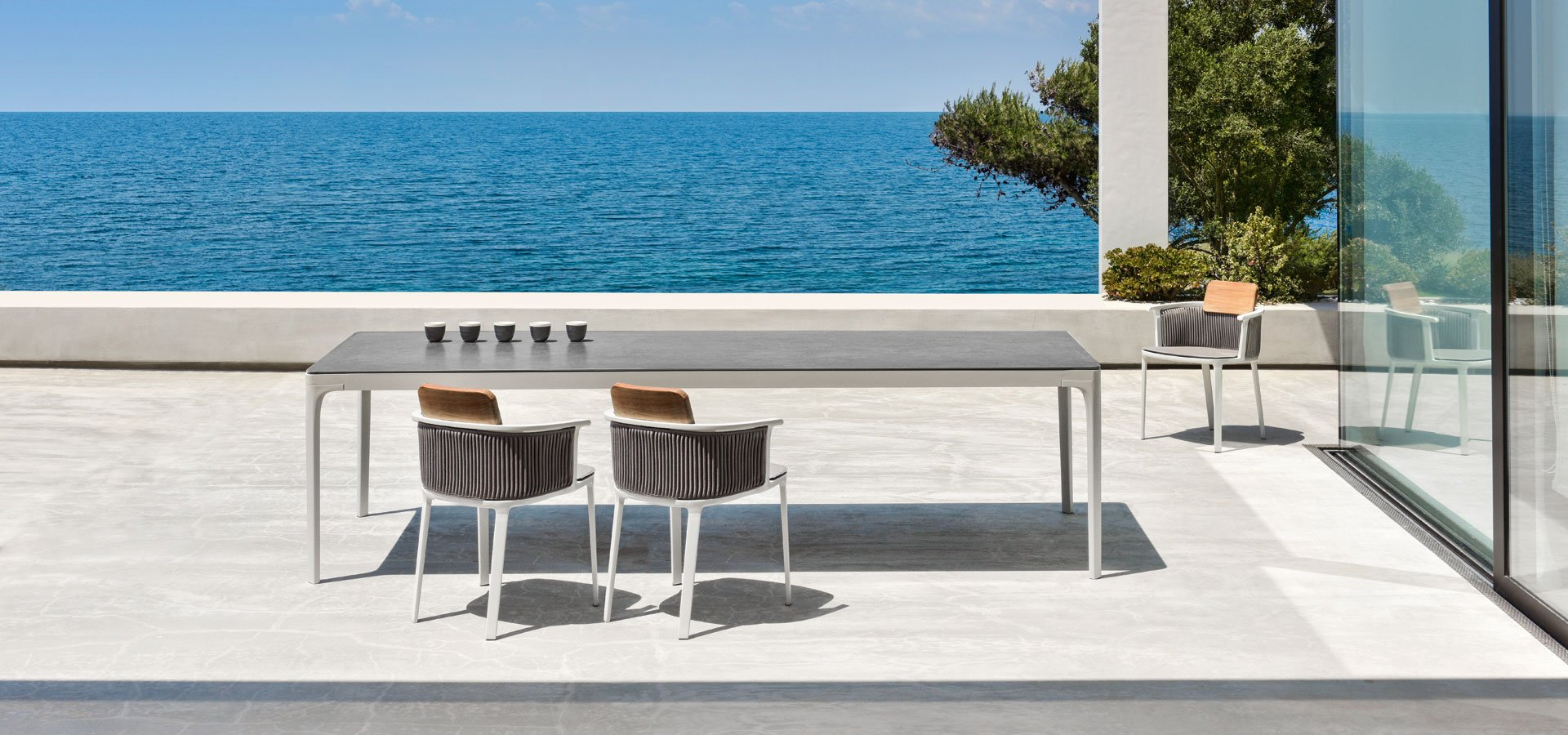 Play Dining Table from Ethimo, designed by Ethimo Studio