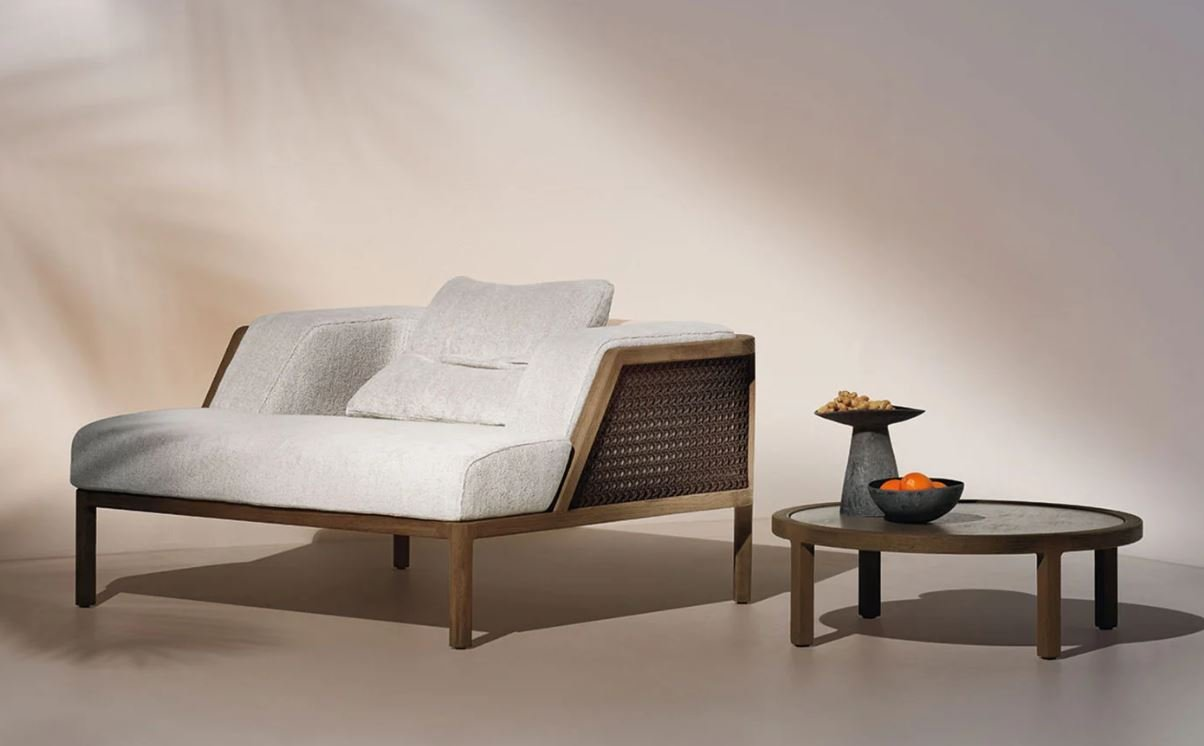 Grand Life Lounge Chair from Ethimo, designed by Christophe Pillet