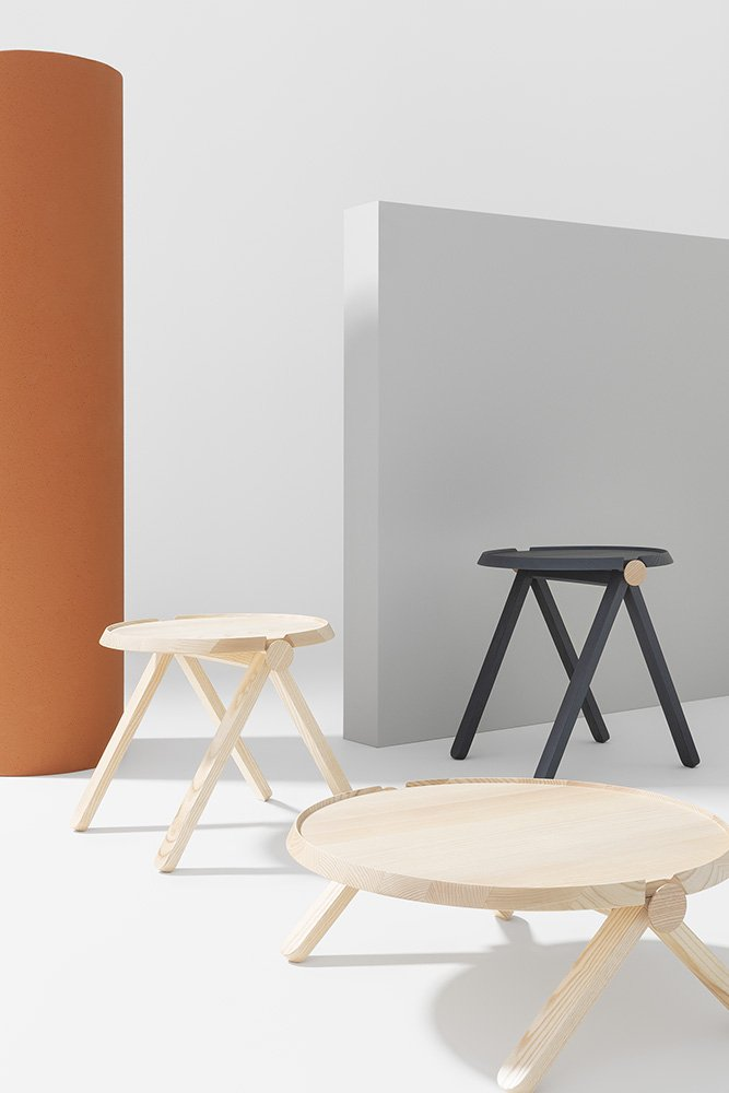 Lilliput Tables coffee from Billiani, designed by Studioventotto