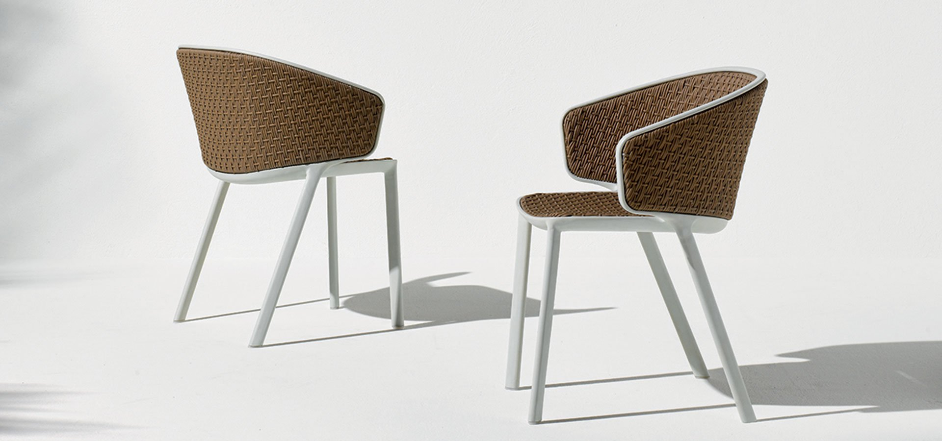 Pluvia Dining Chair from Ethimo, designed by Luca Nichetto