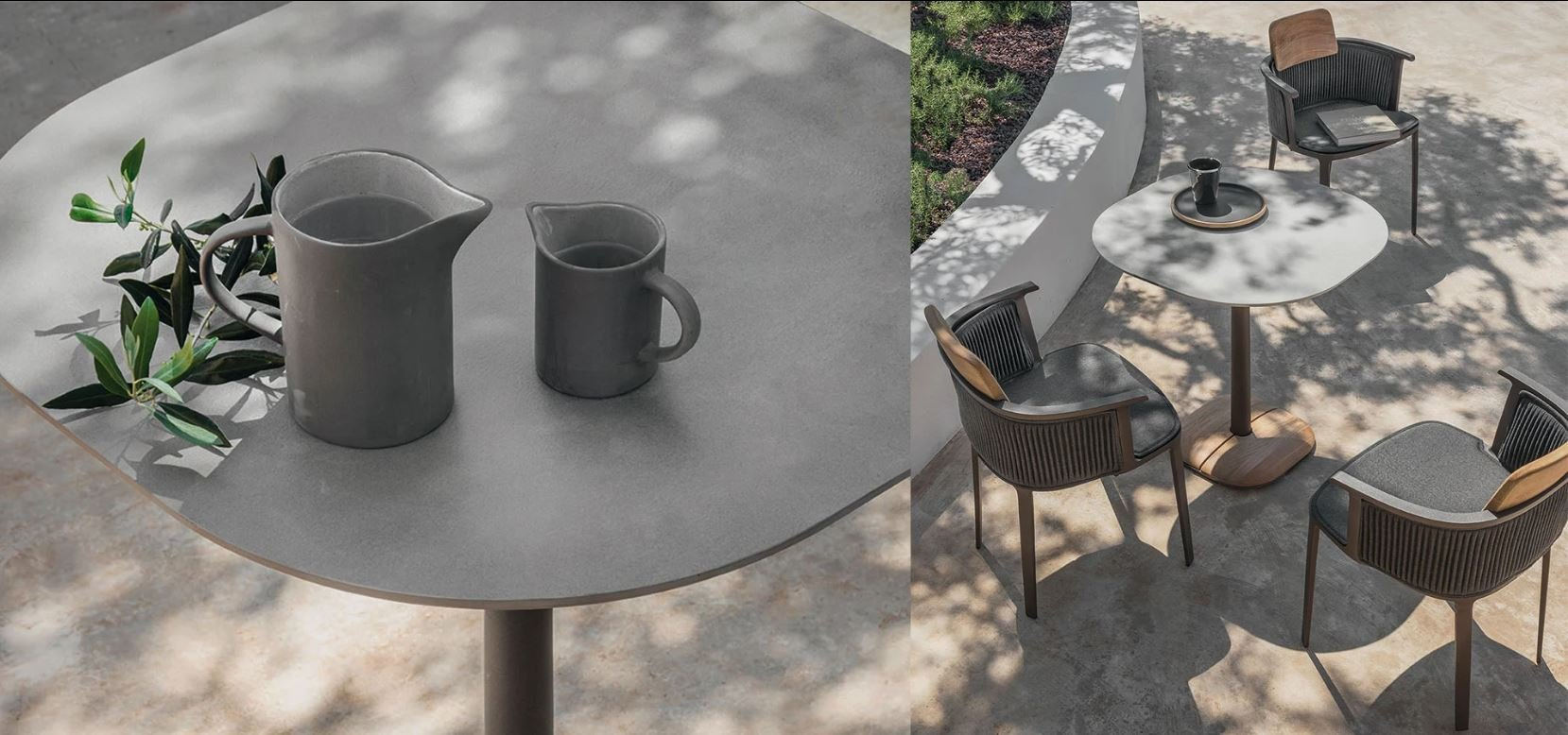 Enjoy Dining Table from Ethimo, designed by Ethimo Studio