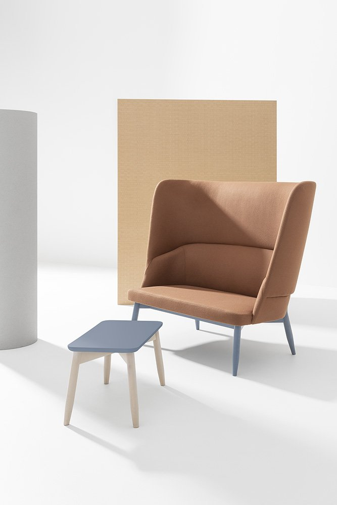 Spy Tables coffee from Billiani, designed by Emilio Nanni