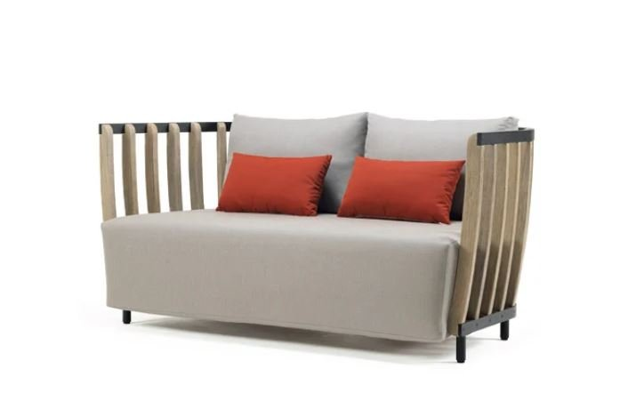 Swing Sofa from Ethimo, designed by Patrick Norguet