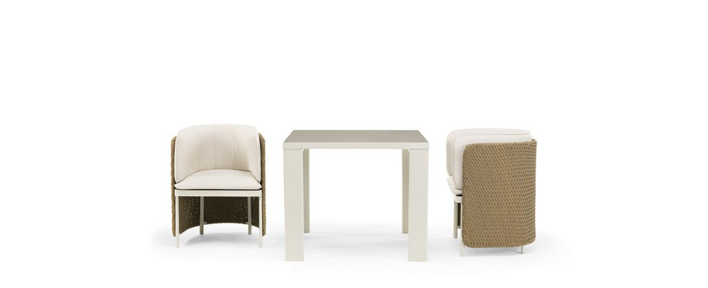 Esedra Dining Chairs from Ethimo, designed by Luca Nichetto