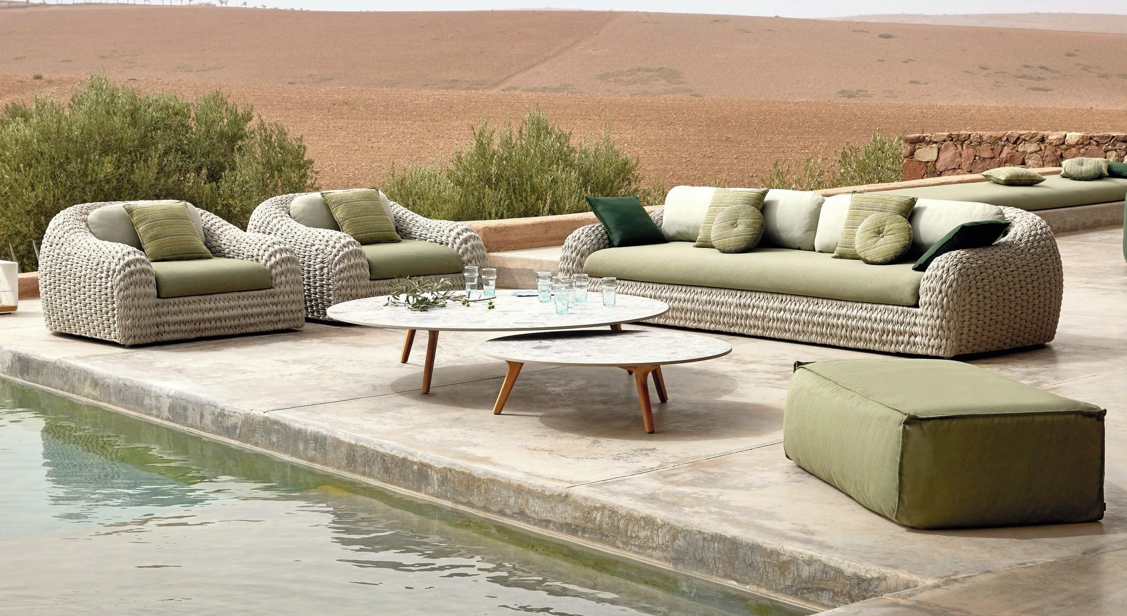 Kobo Sofa from Manutti, designed by Stephane De Winter