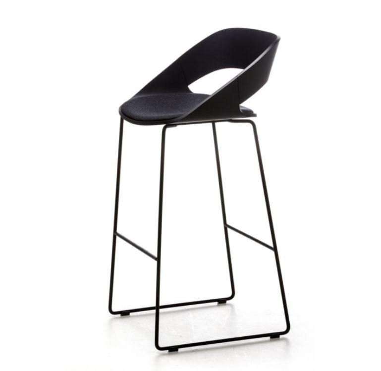 Kabira Sled Stool from Arrmet