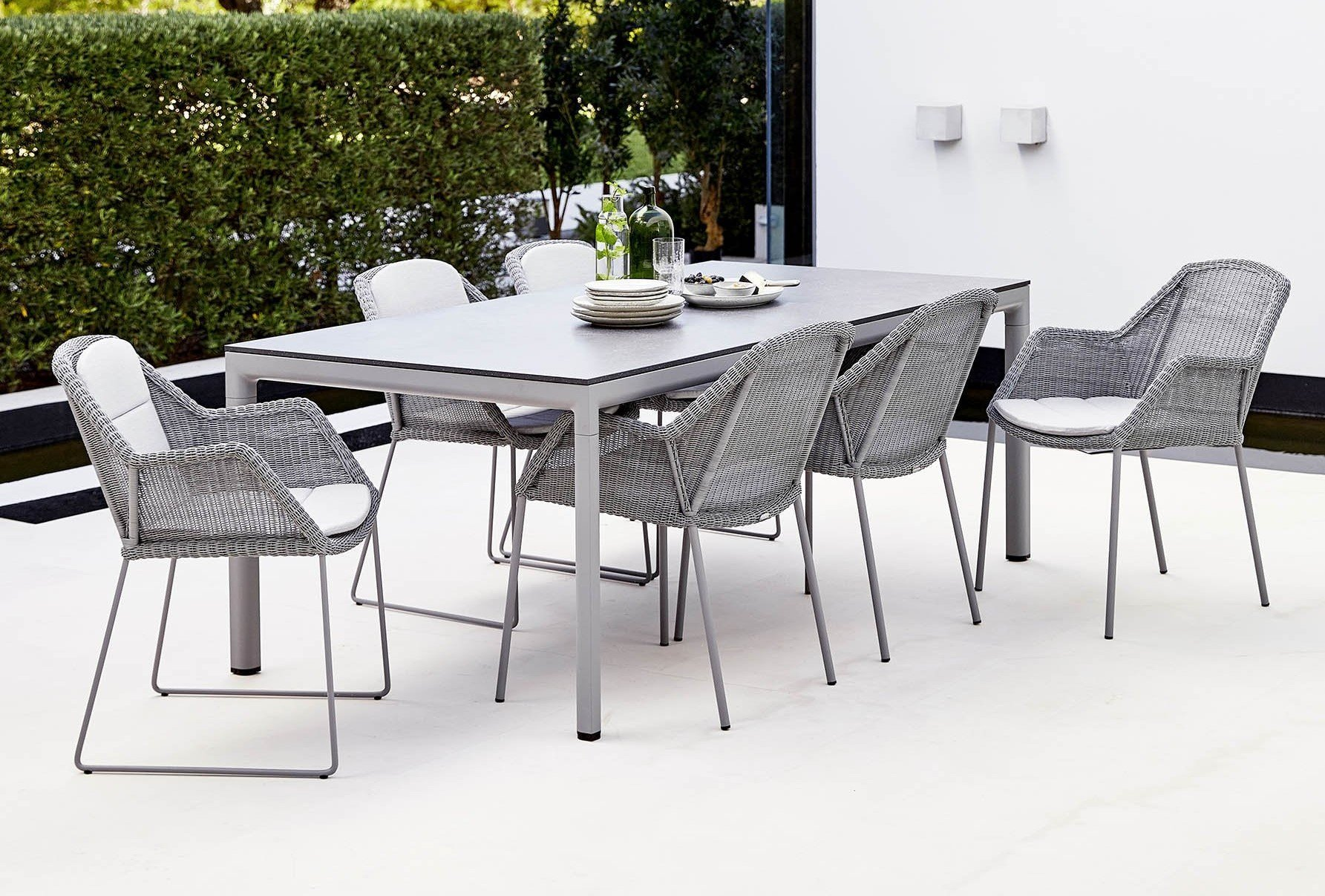 Breeze Dining Chair from Cane-line, designed by Strand+Hvass