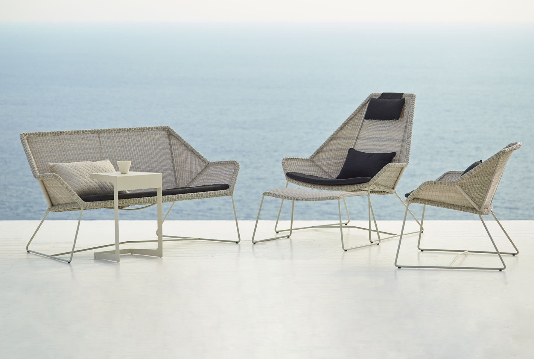 Breeze Lounge Chair  from Cane-line, designed by Strand+Hvass