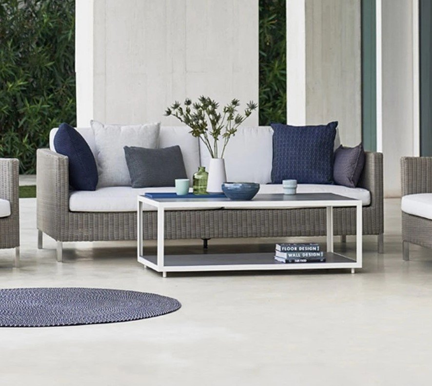 Connect 3-seat Modular Sofa from Cane-line, designed by Cane-line Design Team