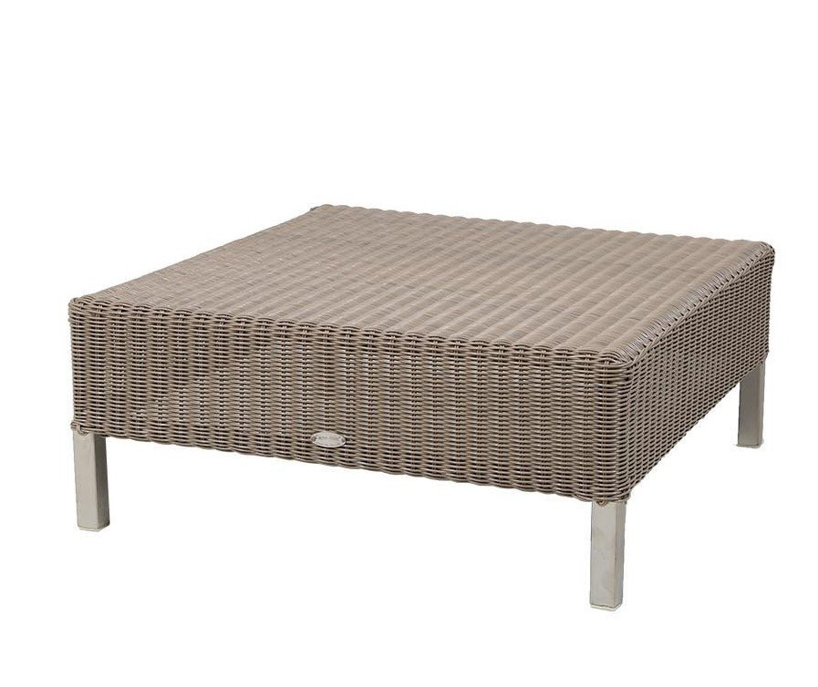 Connect Foot Stool ottoman from Cane-line, designed by Cane-line Design Team