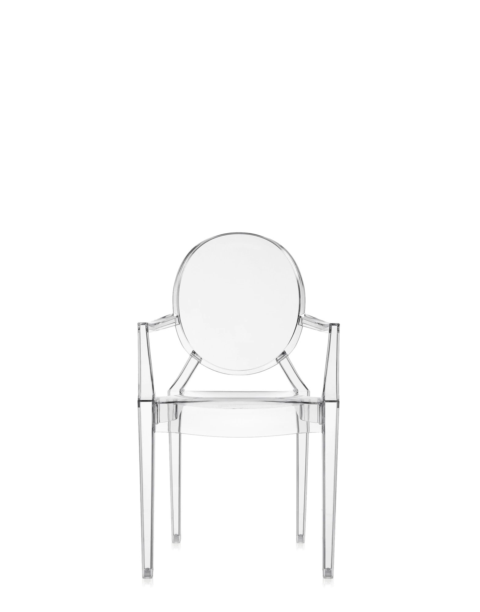Lou Lou Ghost Kids Chair from Kartell, designed by Philippe Starck