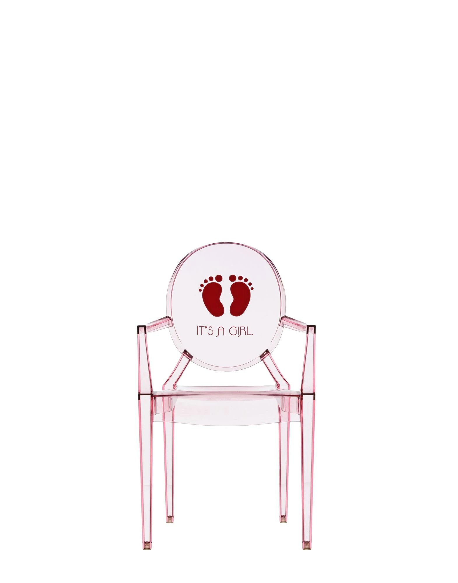 Lou Lou Ghost Special Edition Kids Chair from Kartell, designed by Philippe Starck