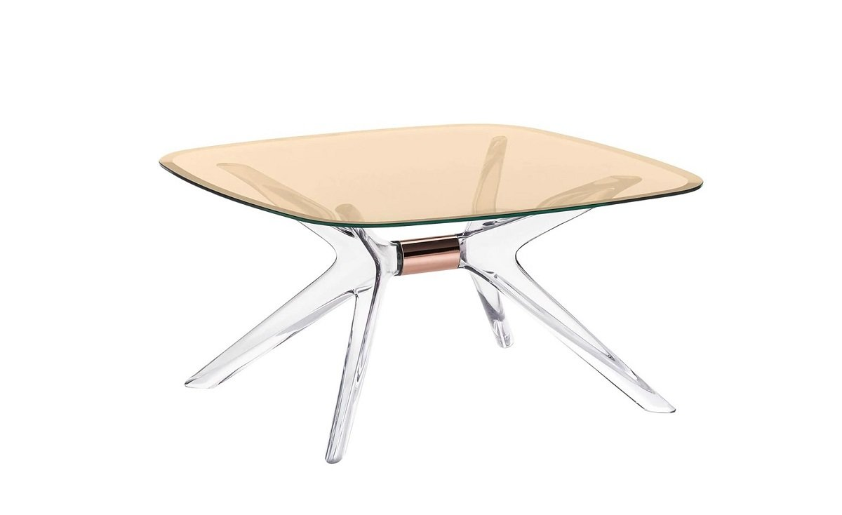 Blast Side Table end from Kartell, designed by Philippe Starck