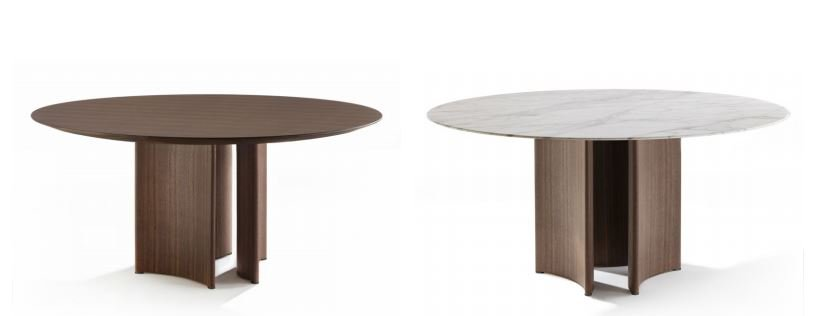 Alan Dining Table from Porada, designed by G. & O. Buratti