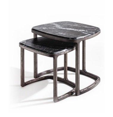 Antigone Side Table end from Porada, designed by E. Gallina