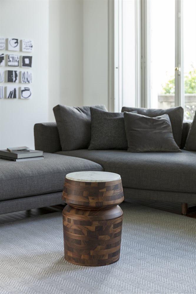 Bouchon Marmo End Table from Porada, designed by C. Ballabio