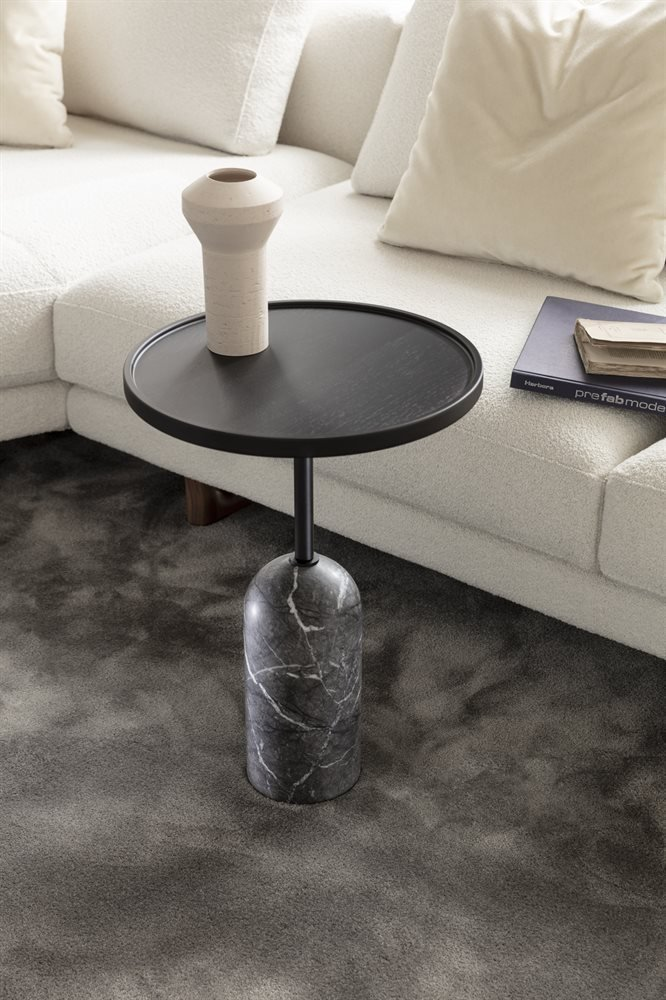 Ekero Side Table end from Porada, designed by Tollgard & Castellani