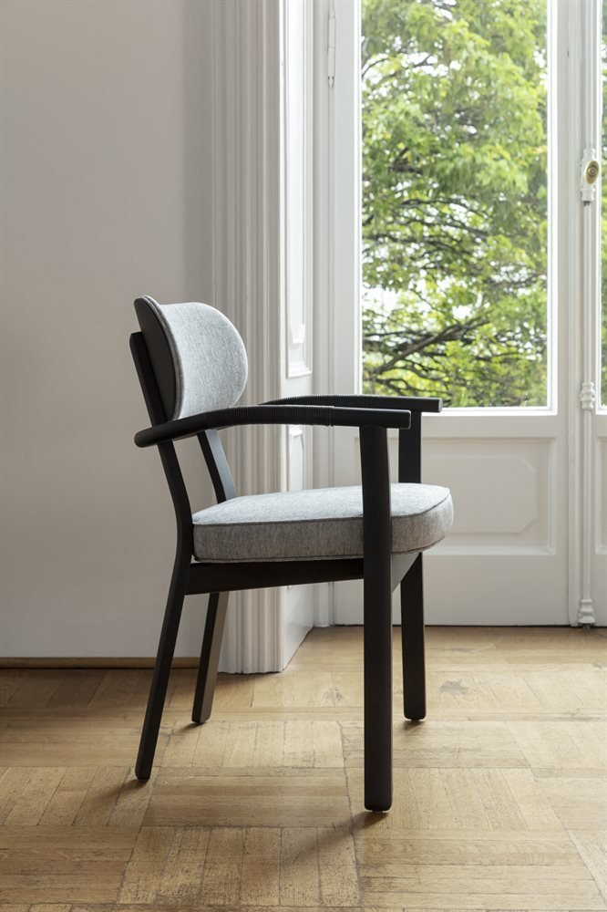 Evelin Chair from Porada, designed by C. Ballabio