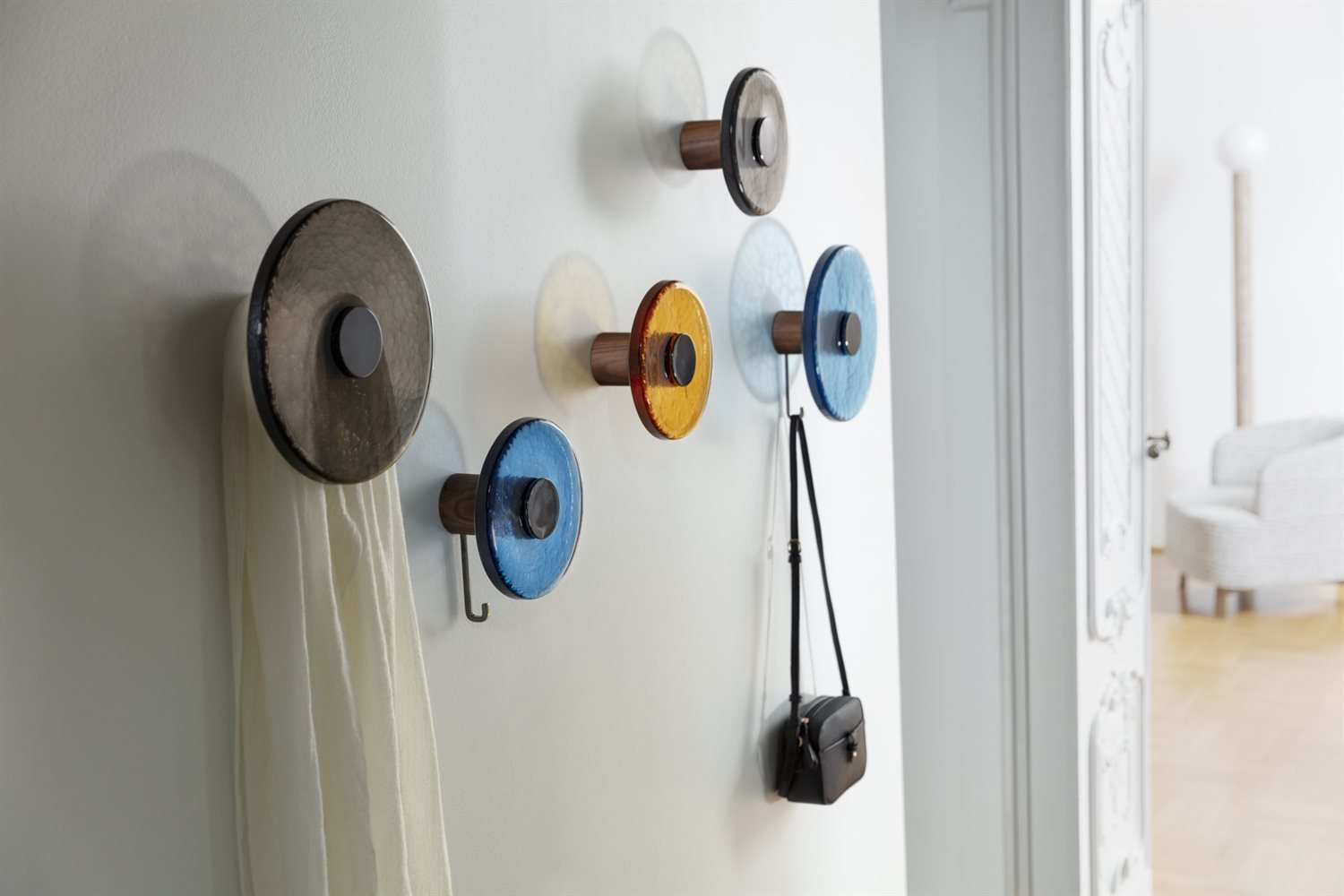 Jupiter Wall Clothes Stand  from Porada, designed by C. Ballabio