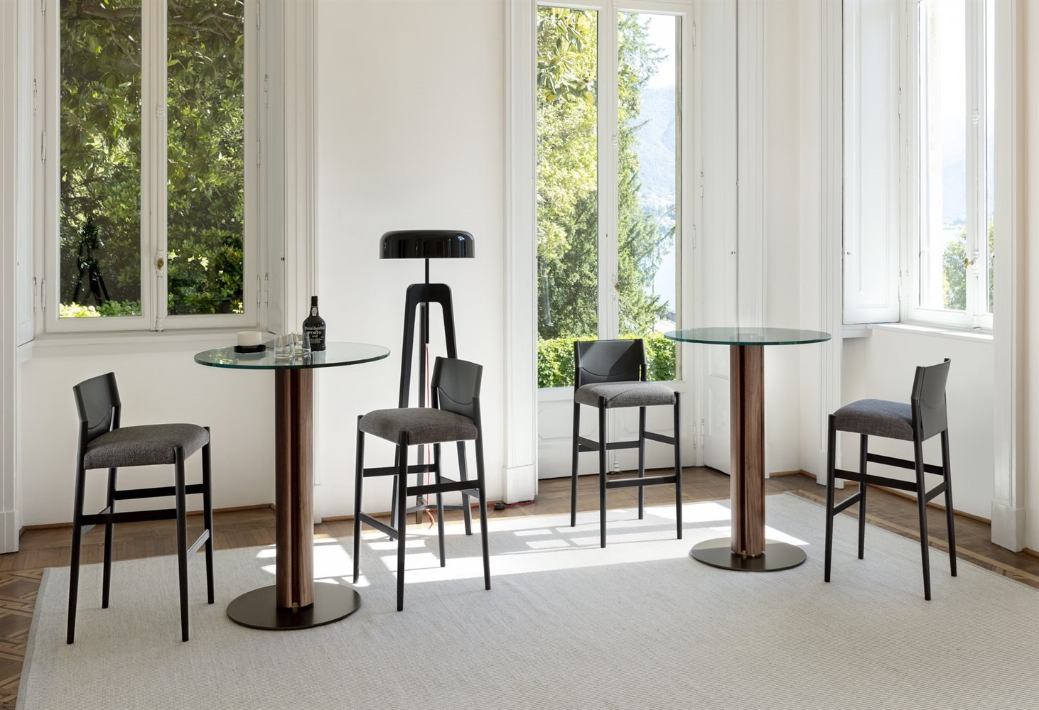 Quadrifoglio Bistrot Bar Table from Porada, designed by C. Ballabio