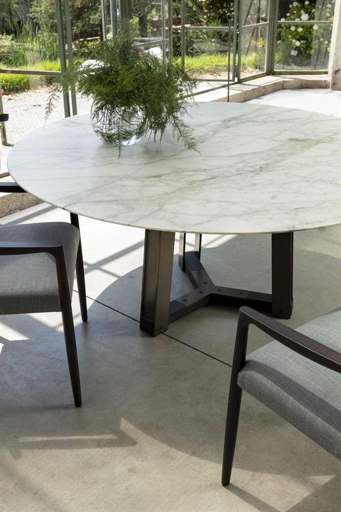 Shibumi Dining Table from Porada, designed by Jiun Ho