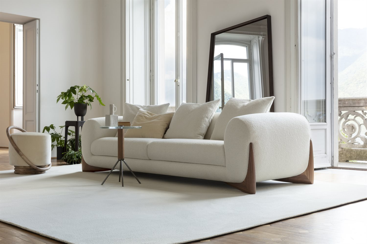 Softbay Sofa from Porada, designed by G. Vigano