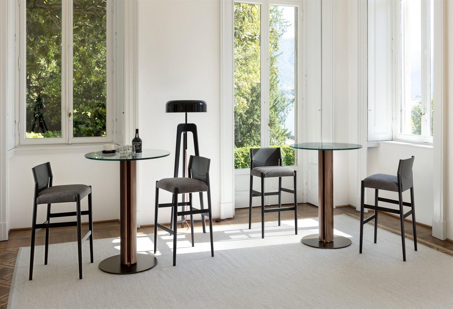 Sveva Bar Stool from Porada, designed by G. & O. Buratti