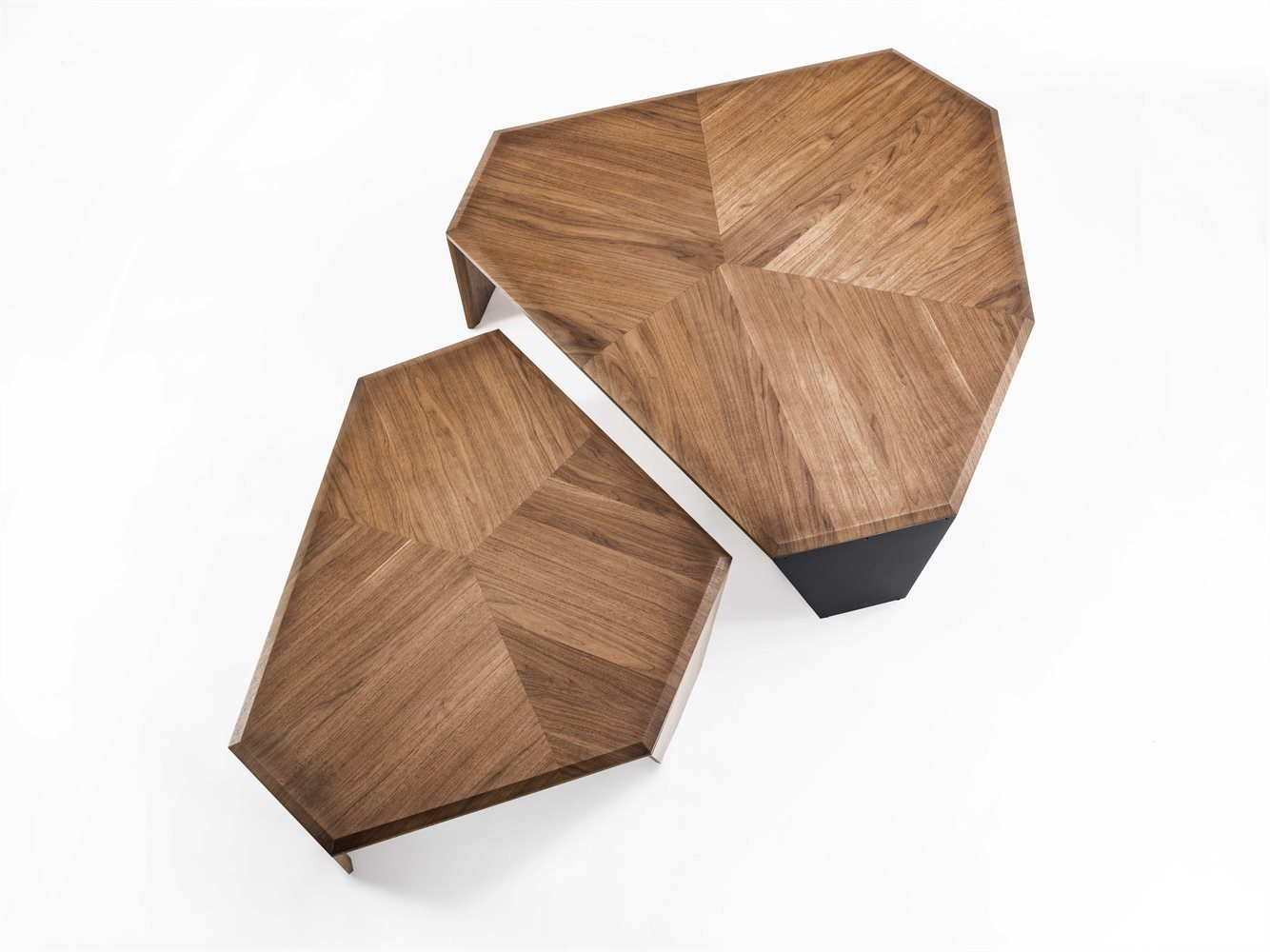 Tortuga coffee table from Porada, designed by Jiun Ho