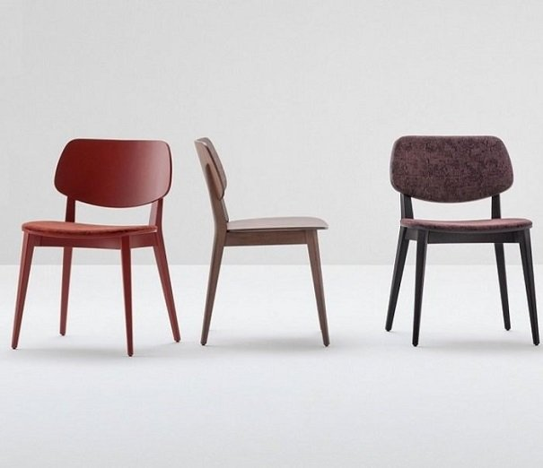 Doll Dining Chair from Billiani, designed by Emilio Nanni