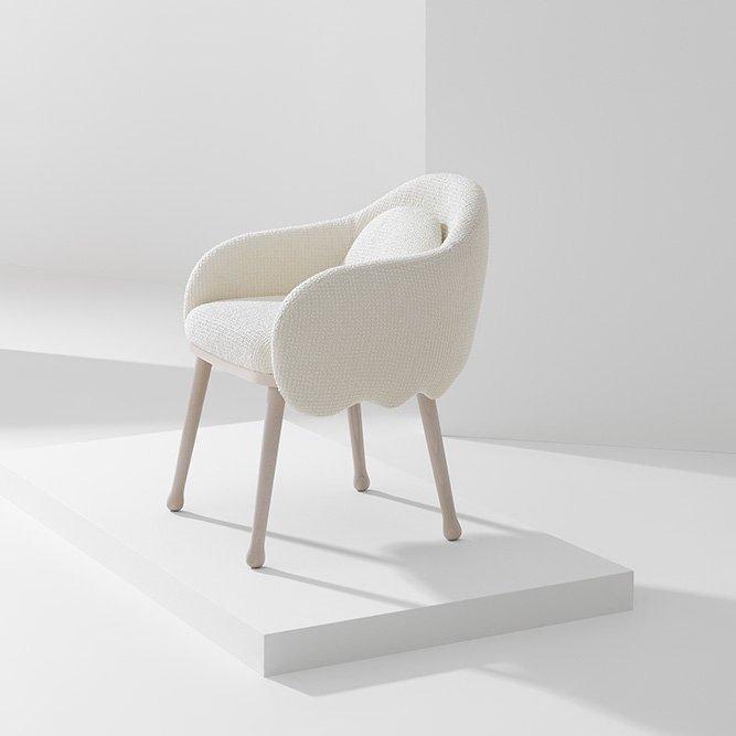 Corolla Armchair lounge from Billiani