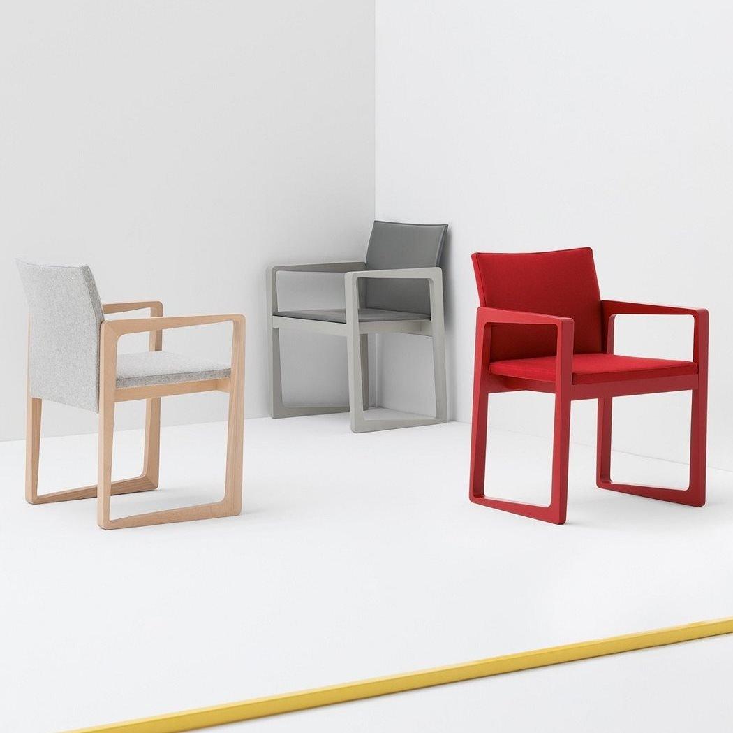 Askew Armchair from Billiani, designed by Daniel Fintzi