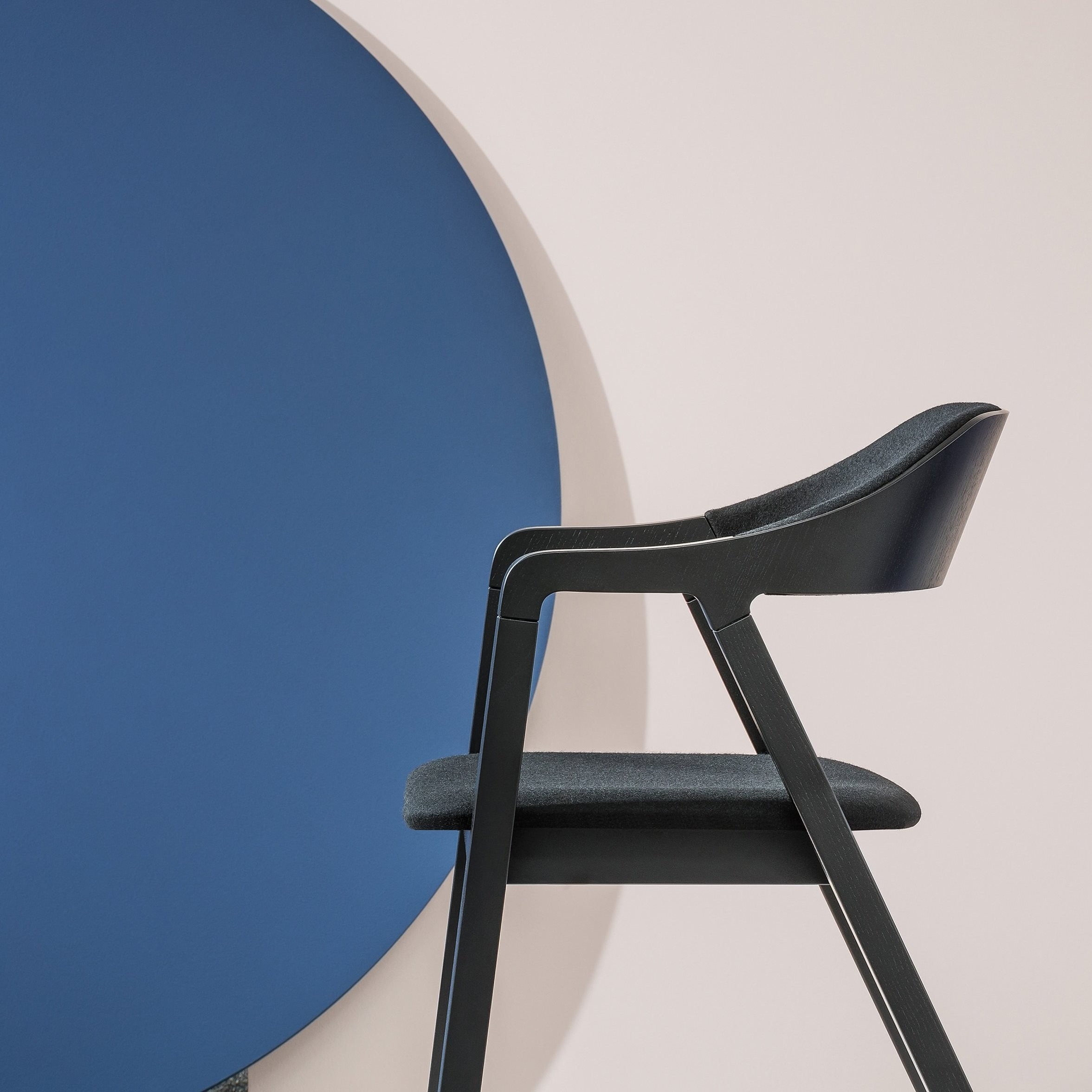 Layer Dining Chair from Billiani, designed by Michael Geldmacher