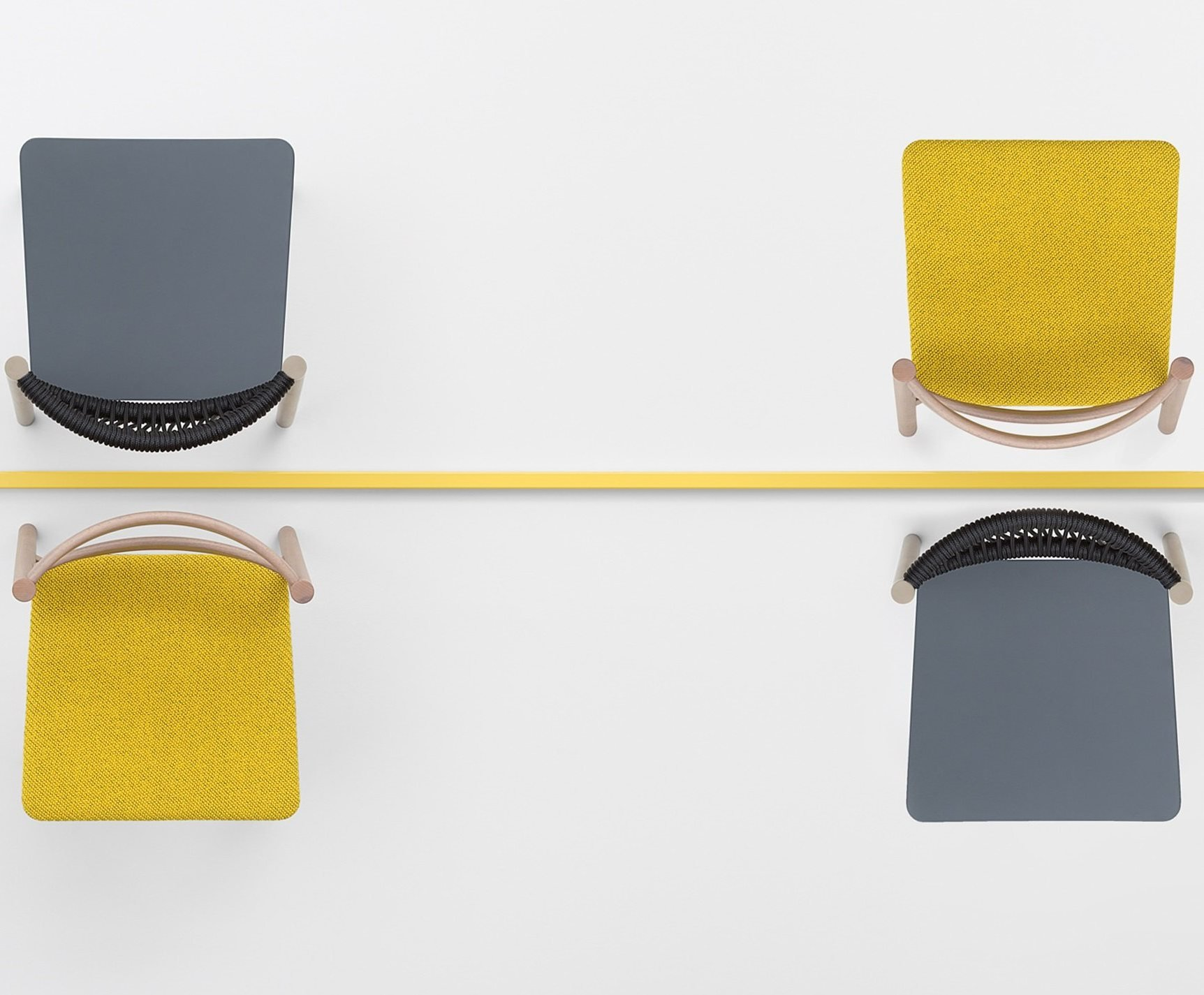 Load Dining Chair from Billiani, designed by Emilio Nanni
