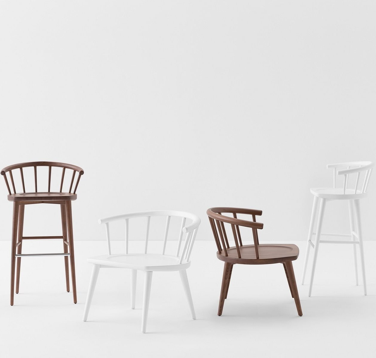 W Lounge Chair from Billiani, designed by Fabrizio Gallinaro