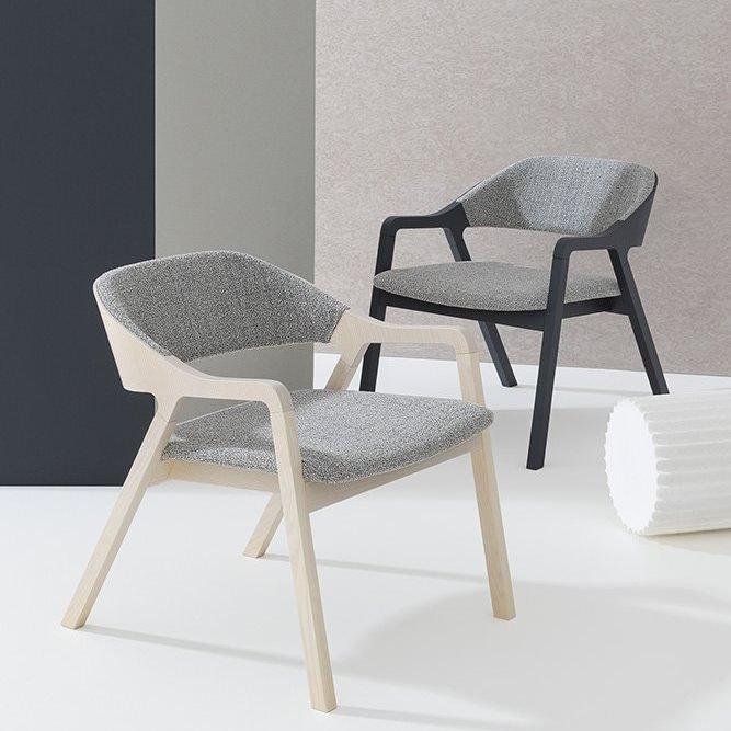 Layer Lounge Chair from Billiani, designed by Michael Geldmacher