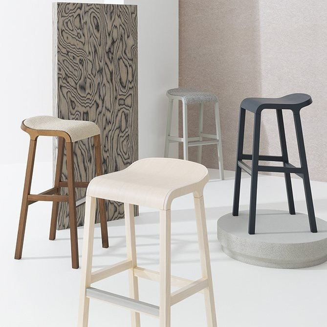 Layer Stool from Billiani, designed by Michael Geldmacher