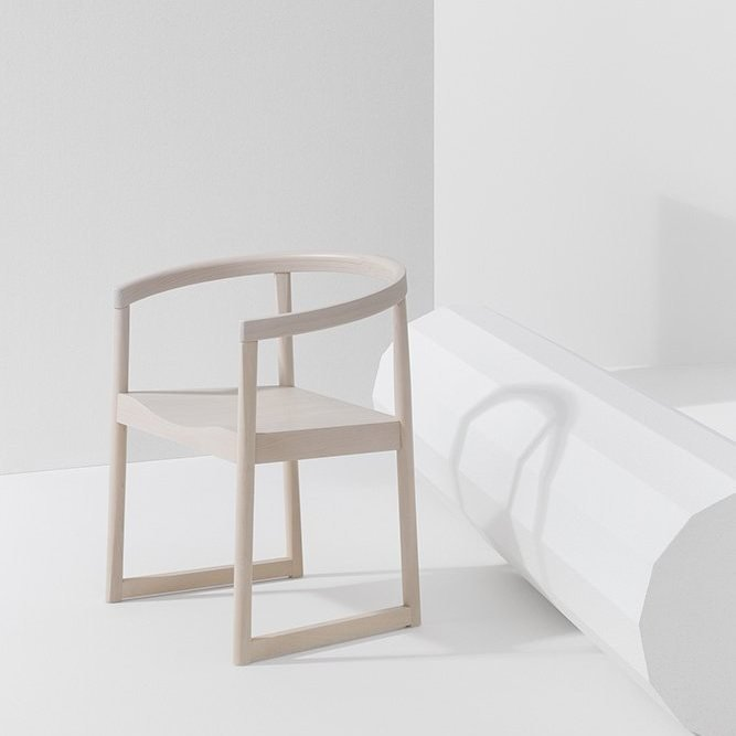 Nordica Dining Chair from Billiani, designed by Marco Ferreri
