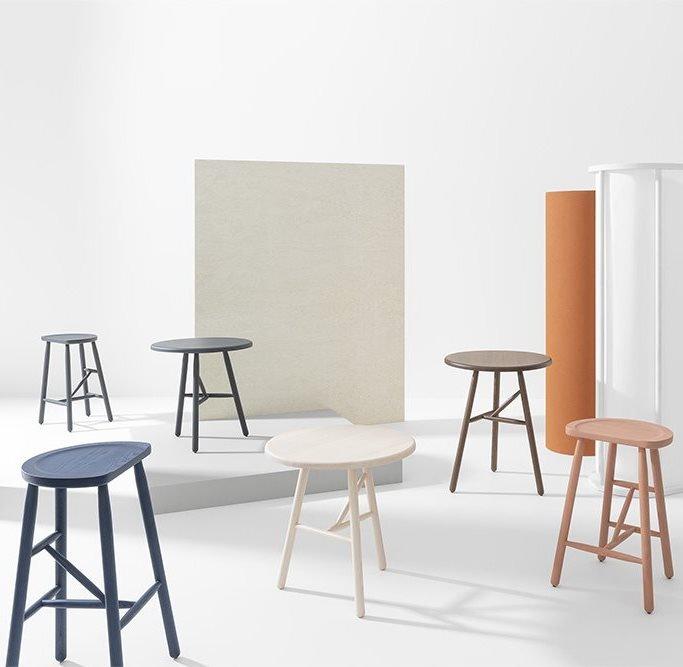 Puccio Tables coffee from Billiani, designed by Emilio Nanni