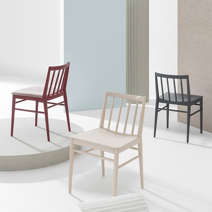 Tracy Dining Chair from Billiani, designed by Emilio Nanni