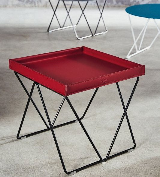 Flexus end table from Bontempi, designed by Studio Contromano