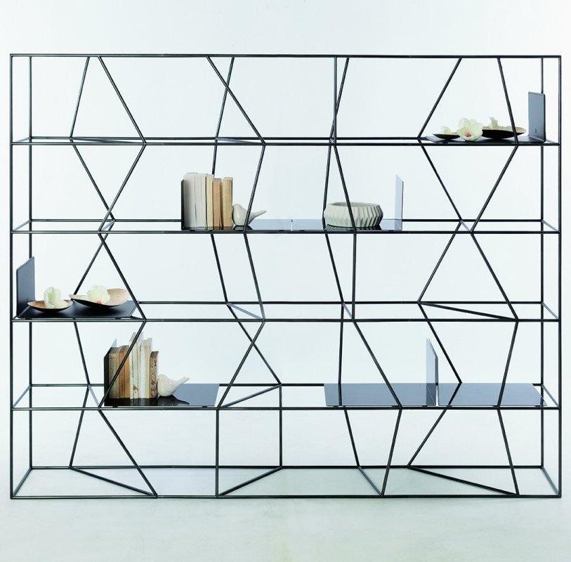 Lexington EX bookcase from Bontempi, designed by Studio Contromano