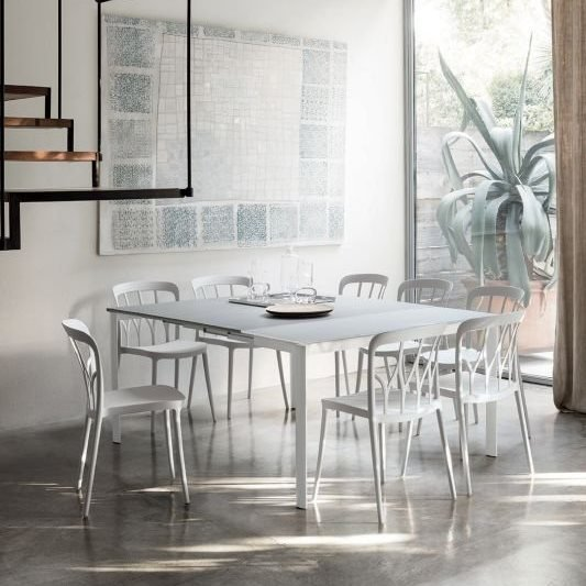 Etico Table dining from Bontempi, designed by  R&D Bontempi Casa